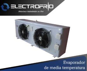 Electrofrío - Evaporador de media temperatura