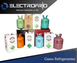 Electrofrío - Gases refrigerantes