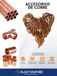 Electrofrío - Tuberías y accesorios de cobre