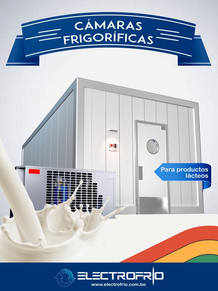 Electrofrío - Cámaras frigoríficas para la conservación de lácteos 2