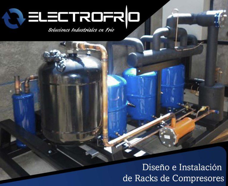 Electrofrío - Diseño e instalación de racks de compresores 2