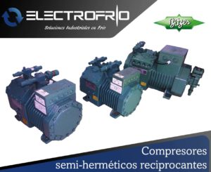 Electrofrío - Compresor semi-hermético reciprocante 3