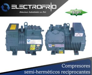 Electrofrío - Compresor semi-hermético reciprocante