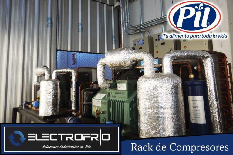 Electrofrío - Rack de compresores para Pil Andina en Oruro 2