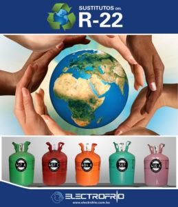 Electrofrío - Gases Refrigerantes Sustitutos del R22