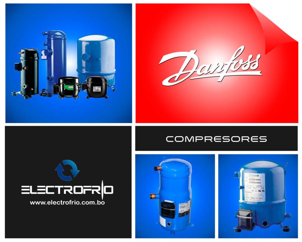 Electrofrío - Compresores refrigerantes Danfoss 2