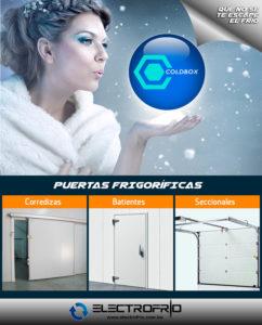 Electrofrío - Puertas para cámaras frigoríficas 2