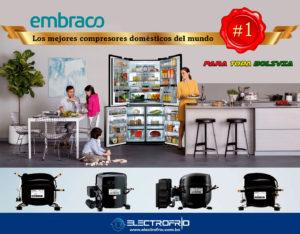 Electrofrío - Compresores EMBRACO para Heladeras