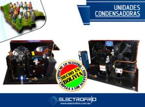Electrofrío - Unidades condensadoras made in bolivia