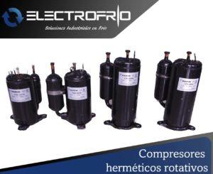 Electrofrío - Compresor hermético rotativo