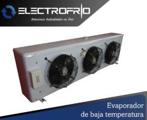 Electrofrío - Evaporador de baja temperatura
