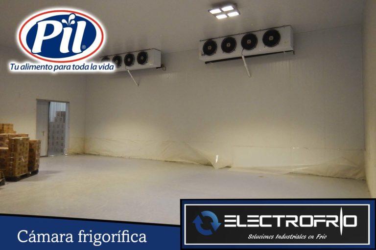 Electrofrío - Cámara frigorífica para Pil Andina en Oruro