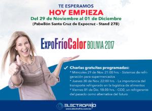 Electrofrío - ExpoFríoCalor Bolivia 2017