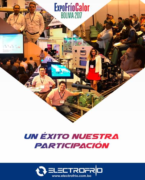 Electrofrío - Un éxito nuestra participación en Expofríocalor Bolivia 2017