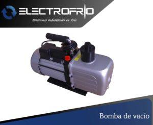 Electrofrío - Bomba de vacío