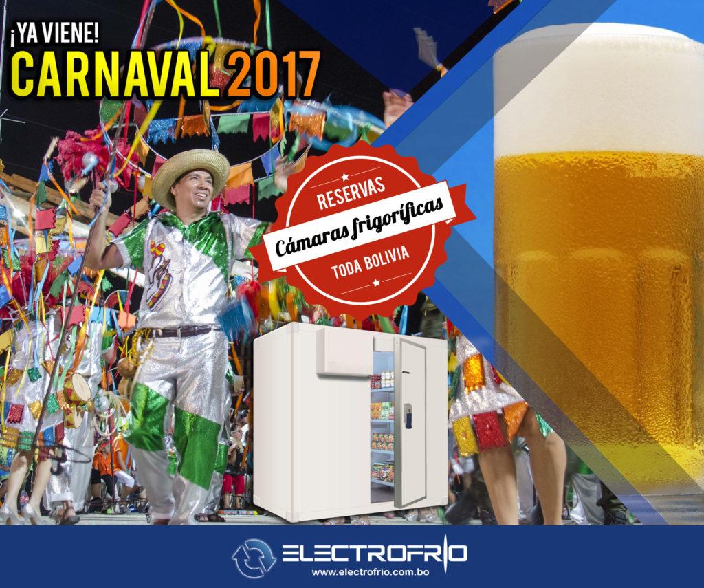 Electrofrío - Cámaras frigoríficas para carnval en toda Bolivia 2