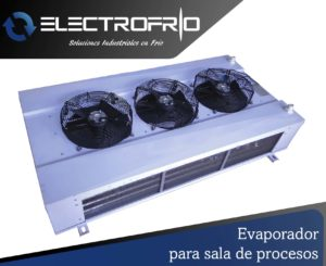Electrofrío - Evaporador para sala de procesos