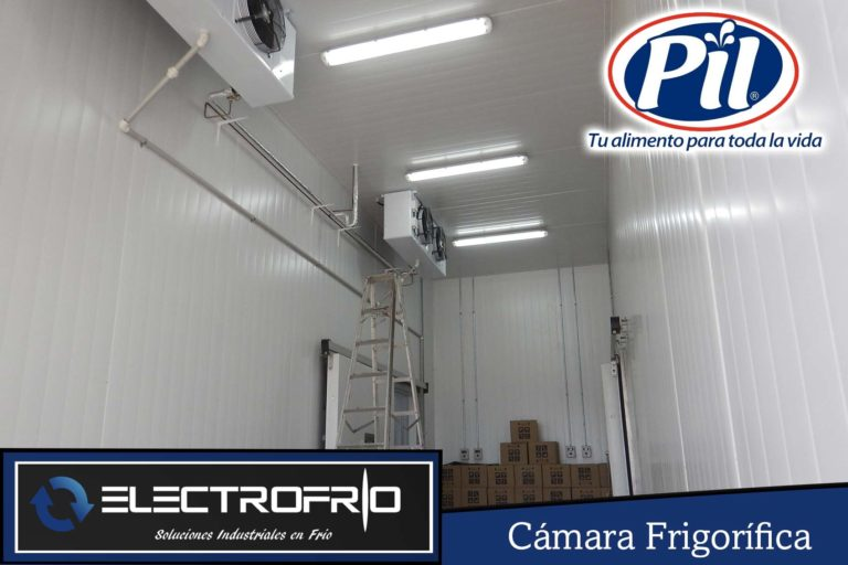 Electrofrío - Cámara frigorífica para Pil Andina en Oruro 2