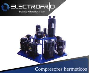 Electrofrío - Compresores herméticos