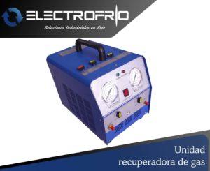 Electrofrío - Unidad recuperadora de gas