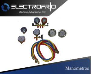 Electrofrío - Manómetros