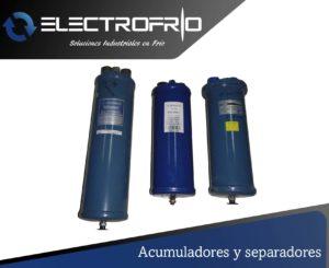 Electrofrío - Acumuladores y separadores