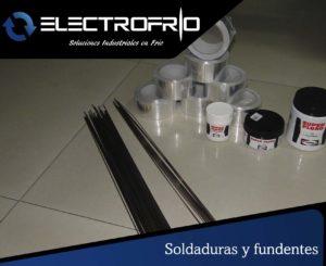 Electrofrío - Soldaduras y fundentes