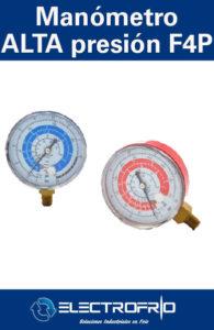 Electrofrío - Manómetro de Alta Presión F4P