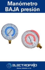 Electrofrío - Manómetro de Baja Presión F4C