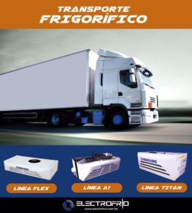 Electrofrío - Transporte frigorífico ExpoFríoCalor Bolivia 2017