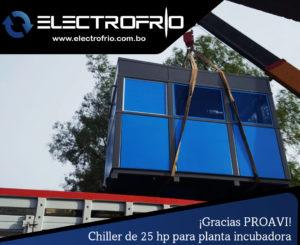 Electrofrío - Chiller enfriador de agua para PROAVI 1