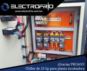 Electrofrío - Chiller enfriador de agua para PROAVI 2