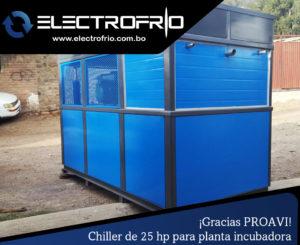 Electrofrío - Chiller enfriador de agua para PROAVI 3