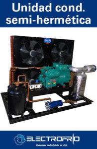 Electrofrío - Unidad condensadora semi-hermética