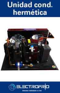 Electrofrío - Unidad condensadora hermética