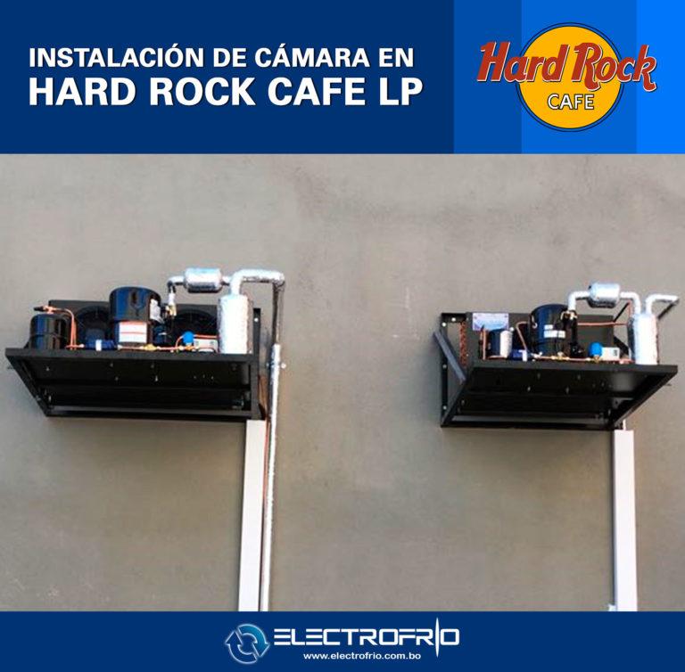 Electrofrío - Instalación de cámara frigorífica en Hard Rock Café La Paz 1