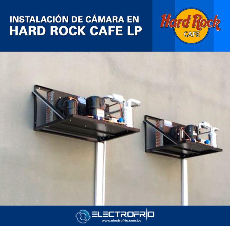 Electrofrío - Instalación de cámara frigorífica en Hard Rock Café La Paz 2