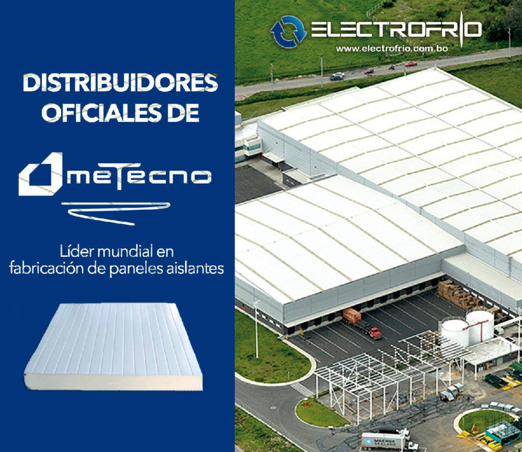 Electrofrío - Distribuidores oficiales de Metecno en Bolivia 2