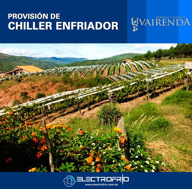 Electrofrío - Provisión de Chiller a Viñedos Uvairenda 3