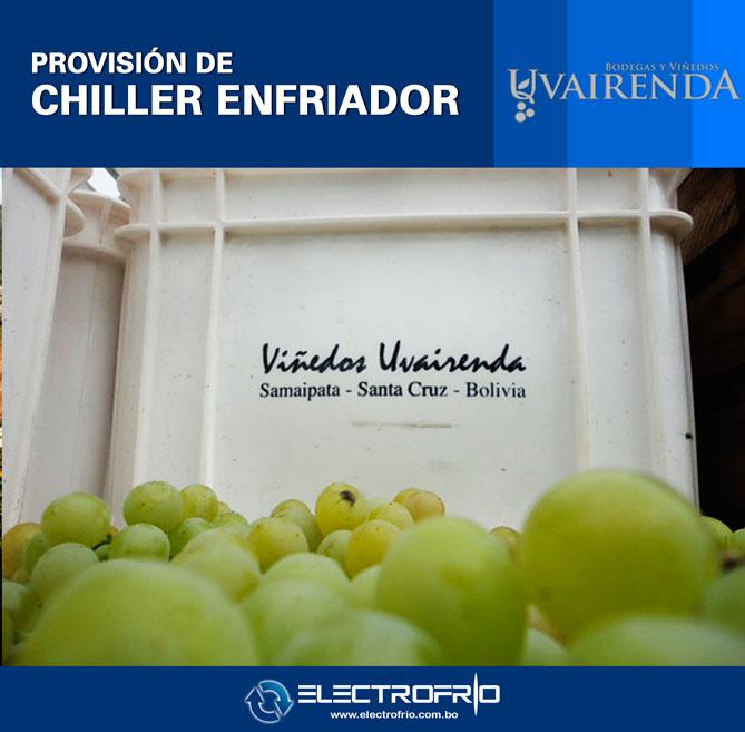 Electrofrío - Provisión de Chiller a Viñedos Uvairenda 2