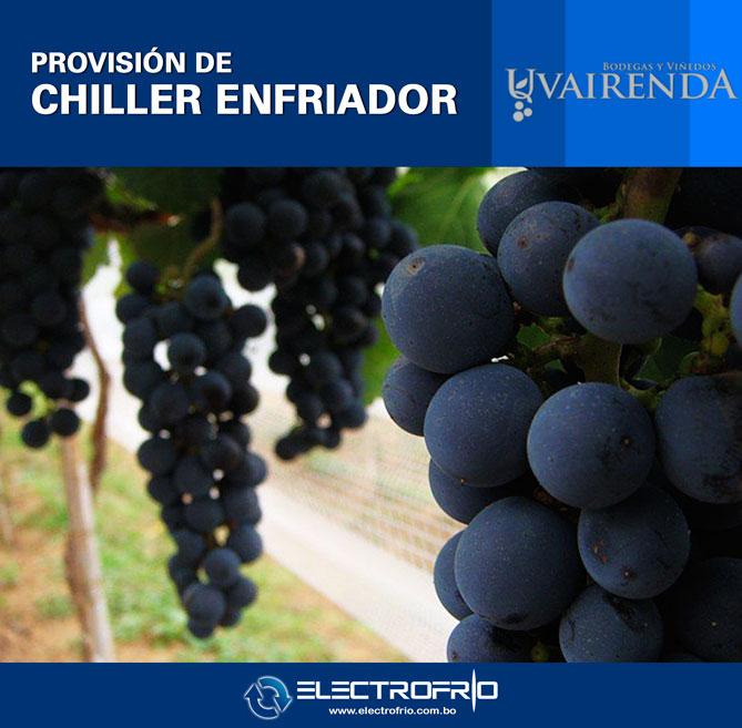 Electrofrío - Provisión de Chiller a Viñedos Uvairenda 4