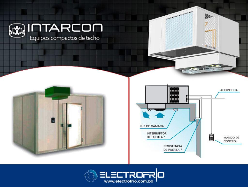 Electrofrío - Intarcon, equipos compactos de techo 2