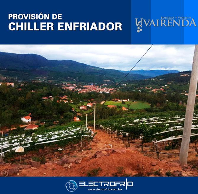 Electrofrío - Provisión de Chiller a Viñedos Uvairenda 5