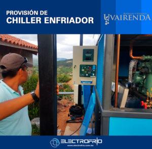 Electrofrío - Provisión de Chiller a Viñedos Uvairenda 1