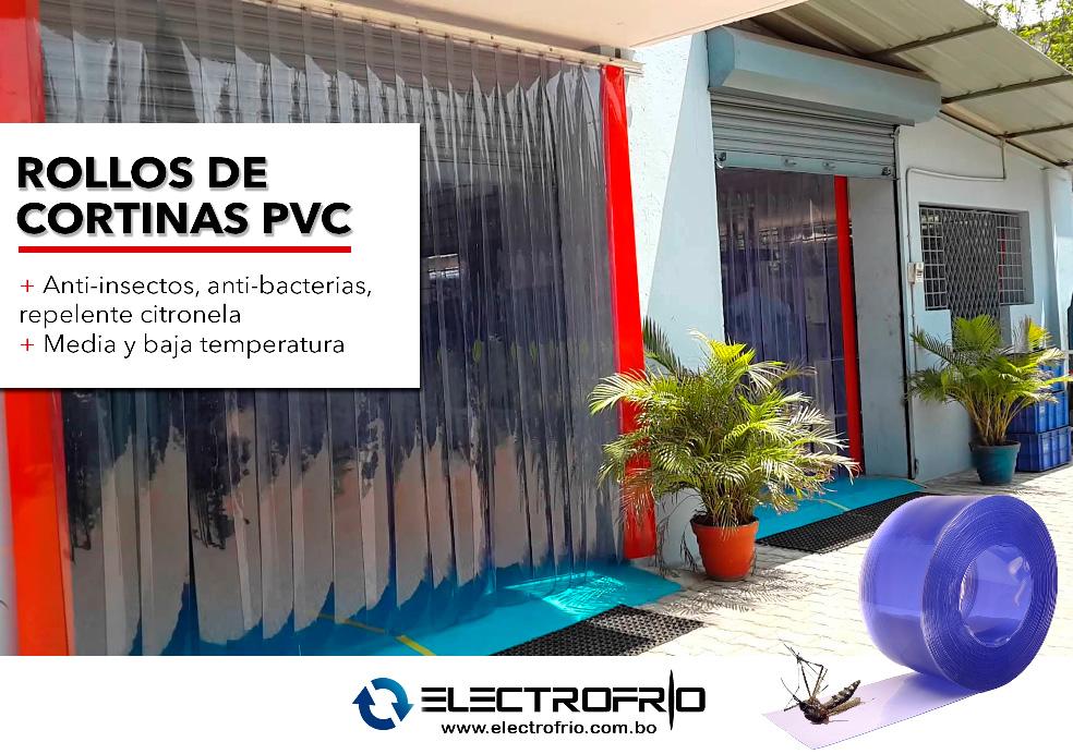Electrofrío - Rollos de cortinas PVC 4