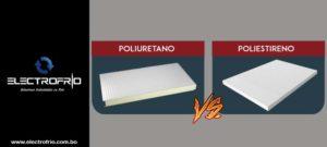 Electrofrío - Poliuretano Vs. Poliestireno