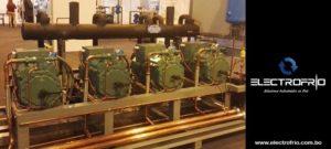 Electrofrío - Diseño y fabricacion de sistema de compresores en paralelo