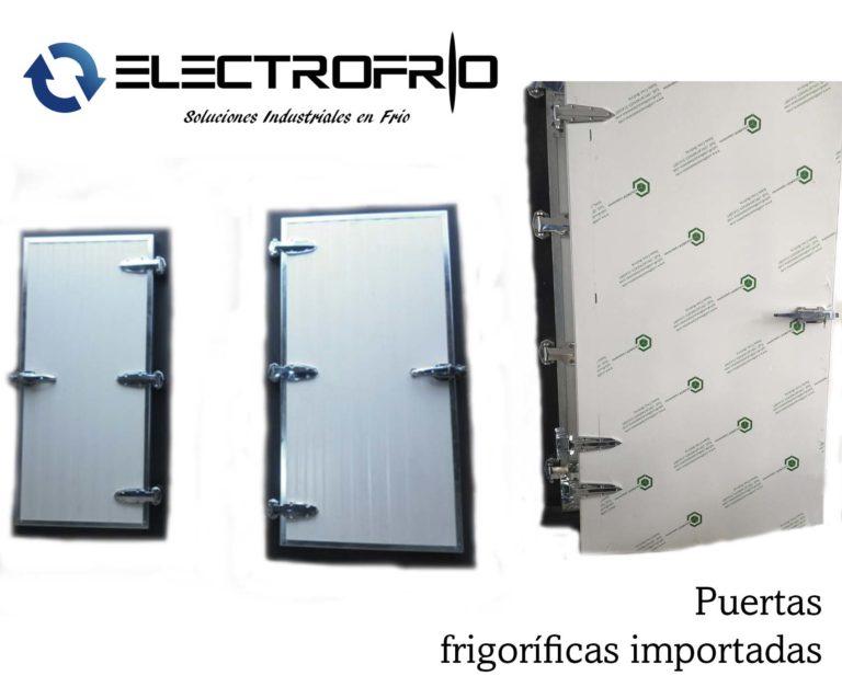 Electrofrío - Puertas frigoríficas importadas 2