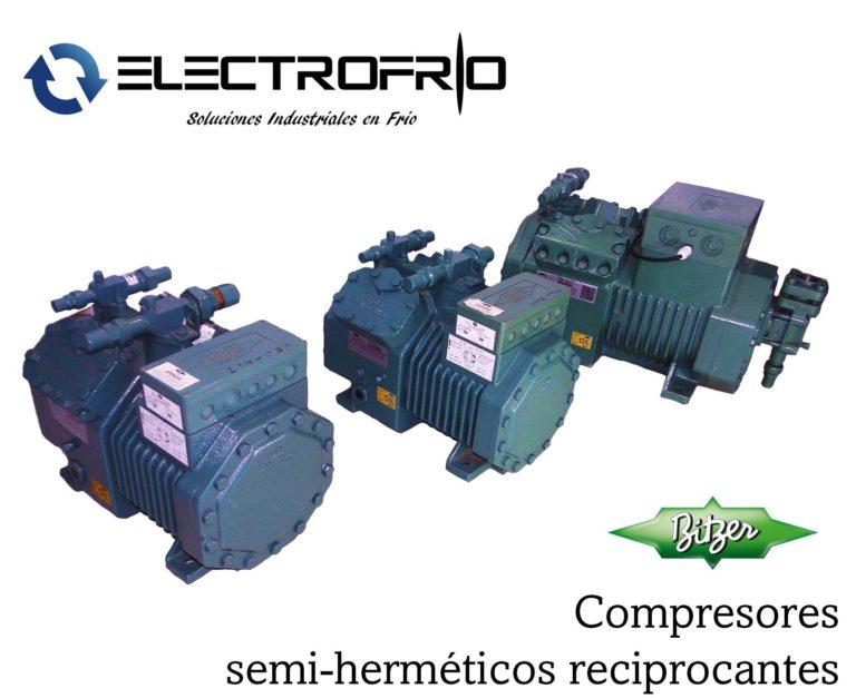 Electrofrío - Compresor semi-hermético reciprocante 4