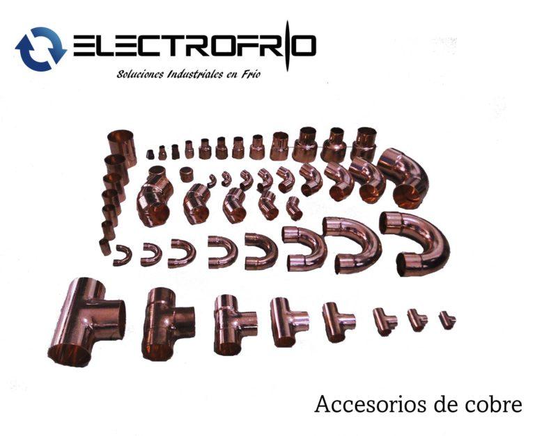 Electrofrío - Accesorios de cobre 2